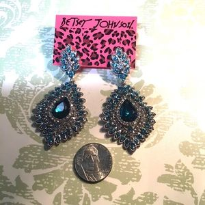 "2 3/4"" Youthful Sparkle Earrings"